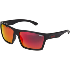 UVEX LGL 29 Glasses black mat/red